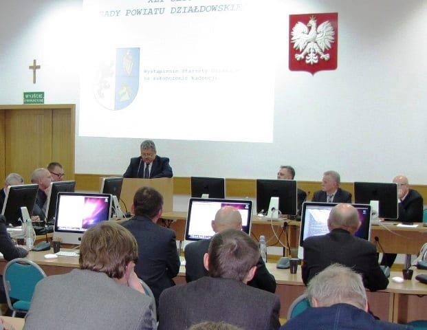 Czas na podsumowanie kadencji, czyli XLI Sesja Rady Powiatu Działdowskiego