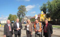 Odbiór końcowy przebudowanej drogi powiatowej Nr 1304 N w Niechłoninie