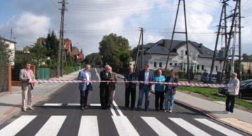 Zakończona przebudowa drogi powiatowej Nr 1595 N dr.woj. 544 Iłowo – Osada – Dwukoły, ul. Leśna w Iłowie-Osada, od km 0+006 do km 0+697 o długości 691 m.