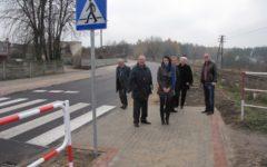 Dwa nowo przebudowane odcinki dróg powiatowych oddane do użytkowania.