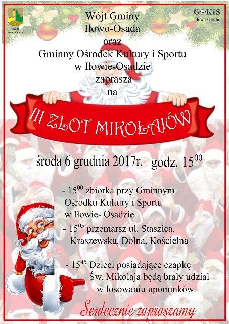 III Zlot Mikołajów w Iłowie-Osadzie