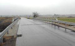Zakończono przebudowę mostu i dojazdów w miejscowości Gnojenko w ciągu drogi powiatowej nr 1363 N
