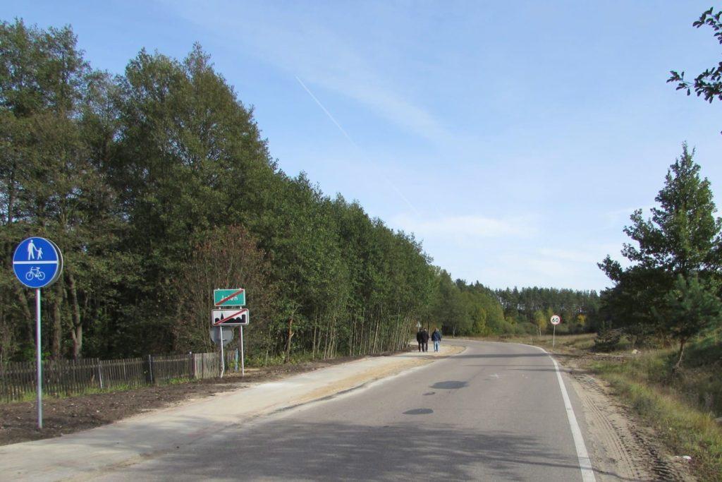 Zakończono przebudowę drogi powiatowej nr 1280 N