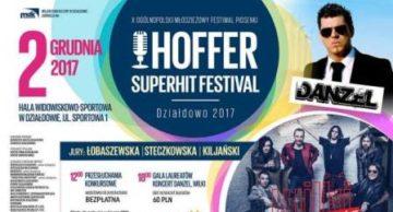 """Wyniki X Ogólnopolskiego Młodzieżowego Festiwalu Piosenki """" HOFFER SUPERHIT FESTIVAL DZIAŁDOWO 2017 """""""