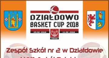 Zaproszenie na Działdowo Basket Cup 2018