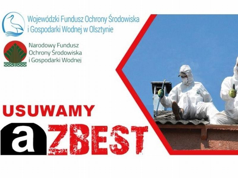 Uwaga zainteresowani usunięciem azbestu!