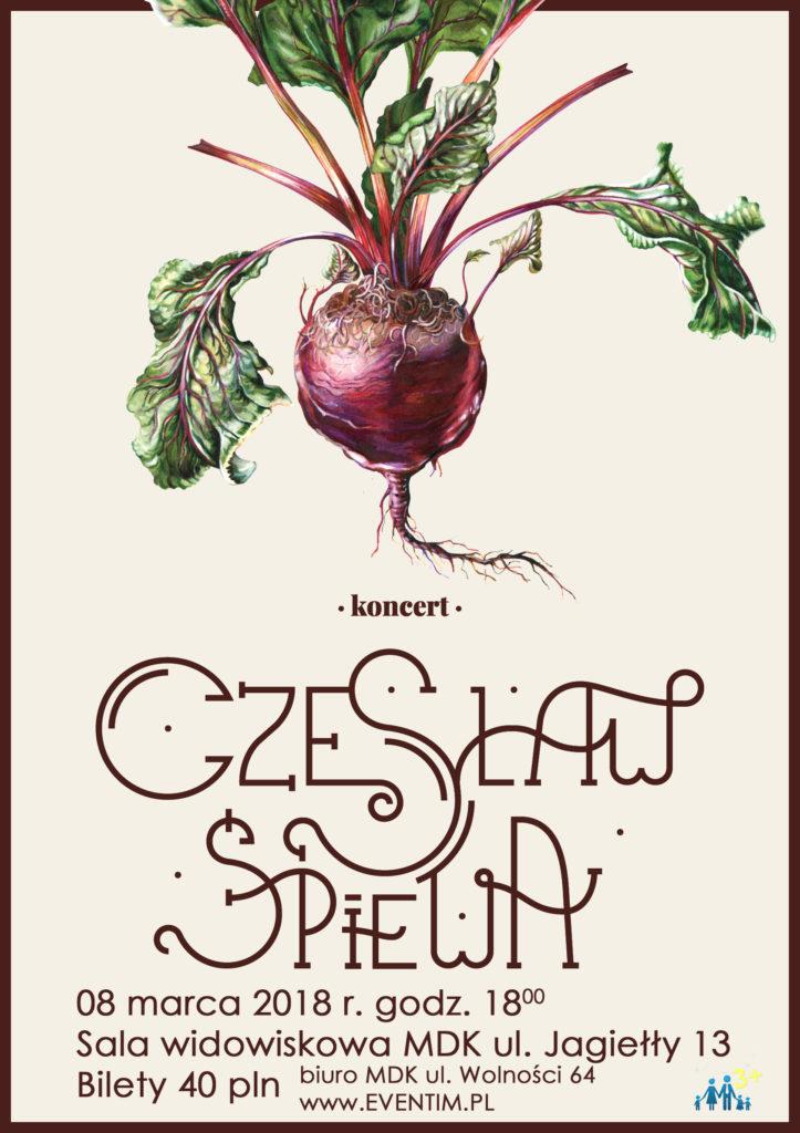 Zaproszenie na koncert Czesława Mozila