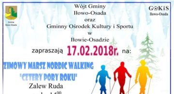 Zaproszenie na nordic-walking i morsowanie