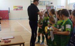 Wiosenny Turniej Piłki Nożnej Dziewcząt w Burkacie
