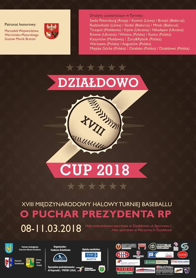 Zaproszenie na XVIII Międzynarodowy Turniej Baseballu