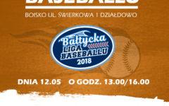Zaproszenie na kolejne mecze Bałtyckiej Ligi Baseballu