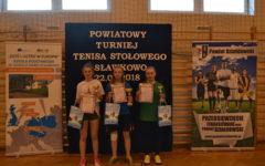 Turniej Tenisa Stołowego w SP w Sławkowie