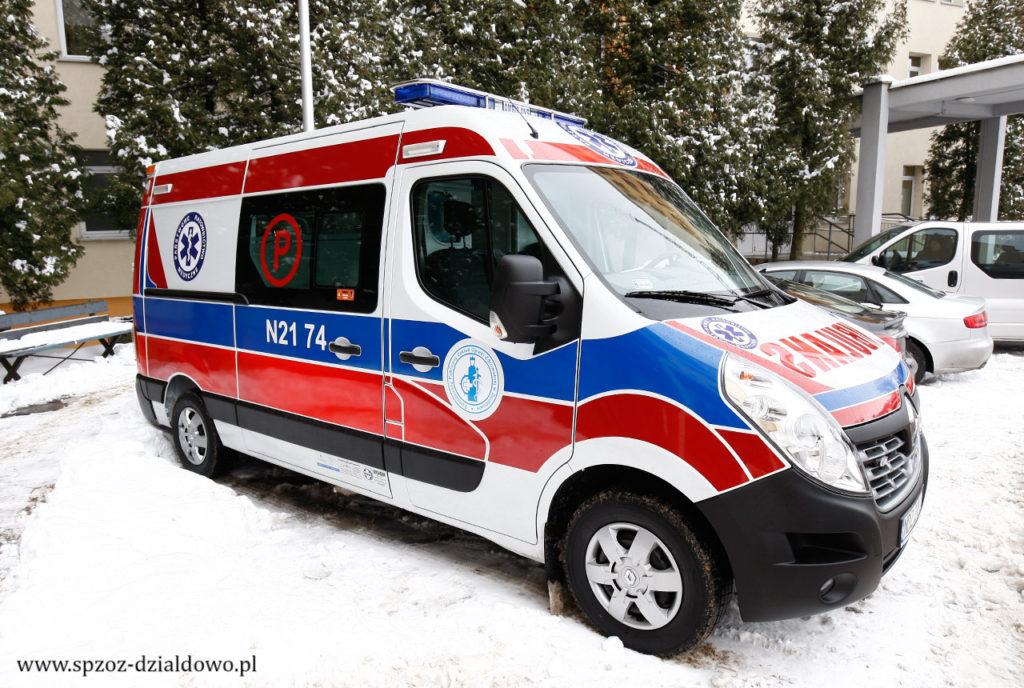 Już od 1 czerwca br. nowa karetka zespołu ratownictwa medycznego typu P w Działdowie?