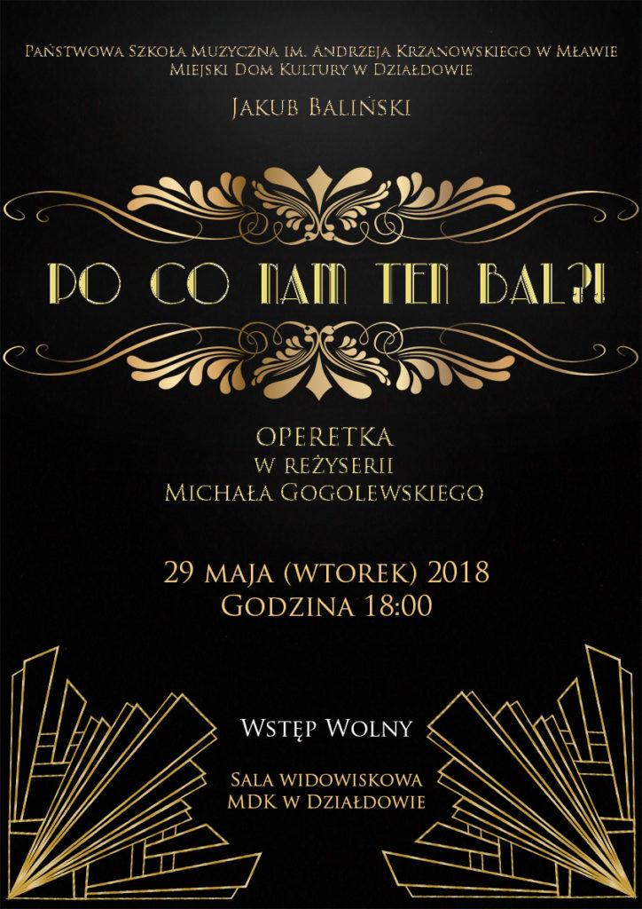 Zaproszenie na operetkę