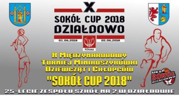 Zaproszenie na Międzynarodowy Turniej Minikoszykówki Sokół Cup