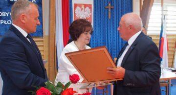 Teresa Nowakowska Honorowym Obywatelem Gminy Płośnica!