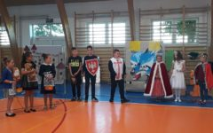 I Gminny Przegląd Krótkich Form Teatralnych w języku angielskim w Szkole Podstawowej  w Niechłoninie