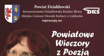 Powiatowe Wieczory z Poezją. Spotkanie II