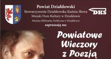 Zaproszenie na Powiatowe Wieczory z Poezją – spotkanie pierwsze