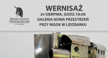 Zaproszenie na wernisaż do Lidzbarka