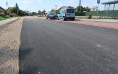 Odbiór kolejnej inwestycji drogowej: Przebudowa drogi gminnej w Małym Łęcku, gm. Płośnica