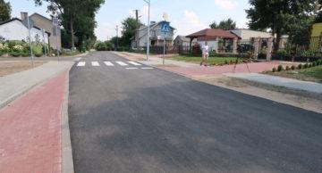 Odbiór kolejnej inwestycji drogowej: Przebudowa drogi gminnej na dz. nr 179, 189, 163, 128 w Małym Łęcku, gm. Płośnica