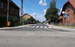 Odbiór I etapu Przebudowy dróg gminnych nr 188087N – ulica Akacyjna i 188044N – ulica Lipowa