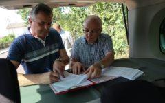 Odbiór inwestycji drogowej w Gnojnie