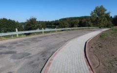 Przebudowa chodnika w m. Szczupliny w ciągu drogi powiatowej nr 1255 N zrealizowana!