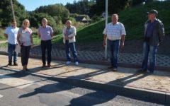 Przebudowa chodnika w Szczuplinach w ciągu drogi powiatowej nr 1255 N zakończona