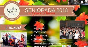 Zaproszenie na Senioriadę 2018 do Płośnicy