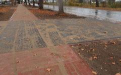 Odbiór końcowy przebudowy chodnika w Księżym Dworze