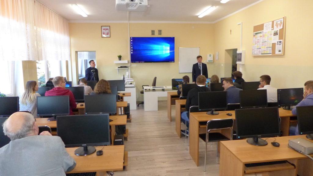 Finalizacja realizacji kolejnego projektu w Zespole Szkół Nr 1 w Działdowie (film)