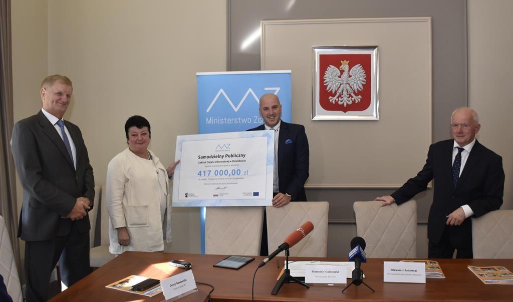 417 tysięcy zł dla działdowskiego SP ZOZ!