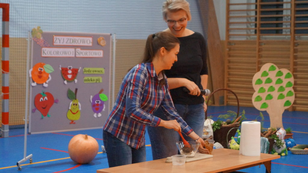 Regionalny Dzień Zdrowego Gotowania w Szkole w Niechłoninie