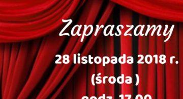 Zaproszenie na spektakl do Płośnicy