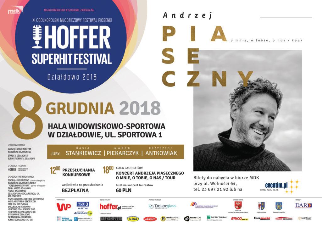 Już wkrótce Hoffer Superhit Festival!