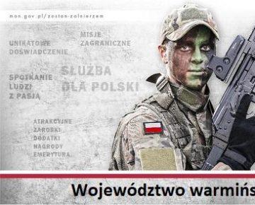 """""""Zostań żołnierzem RP"""" - kampania MON"""
