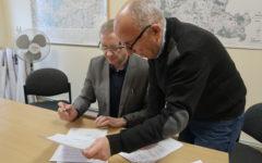 Odbiór trzech kolejnych powiatowych inwestycji drogowych