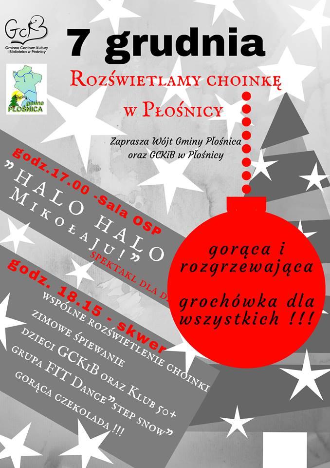 Halo, Halo Mikołaju! – w Płośnicy