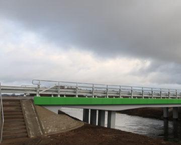 """Odbiór inwestycji drogowej: """"Przebudowa mostu w ciągu drogi powiatowej nr 1304 N  na odcinku pomiędzy  Przełękiem a Jabłonowem JNI  01003837"""""""