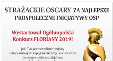 """""""Floriany 2019"""" propozycją konkursową dla OSP!"""
