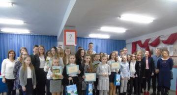 Piękne recytacje wierszy i doskonała organizacja konkursu w lidzbarskim LO