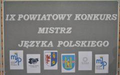 IX Powiatowy Konkurs Mistrz Języka Polskiego już za nami!