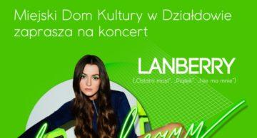 Koncert Lanberry w Działdowie