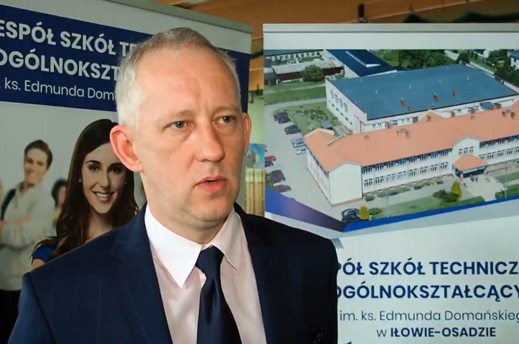 Dzień Otwarty w Zespole Szkół Zawodowych w Iłowie-Osadzie (film)