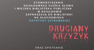 """""""Druciany krzyżyk"""""""" Krystyny Sztramskiej w działdowskiej MBP"""