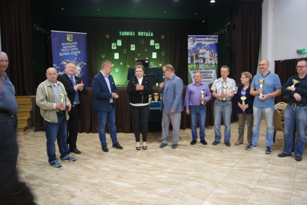 Indywidualny Turniej Brydża o Puchar Starosty Działdowskiego – wyniki