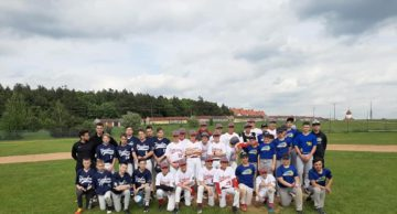 """Awans Yankees Działdowo do finałów Ogólnopolskiej Olimpiady Młodzieży """"Wielkopolskie 2019""""."""