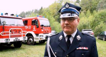 Obchody Dnia Strażaka w Gminie Działdowo z udziałem starosty Pawła Cieślińskiego (film)
